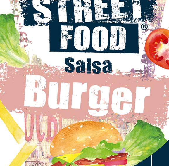 Salsa Burger - I Love Streetfood