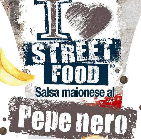 Salsa Al Pepe Nero - I Love Streetfood