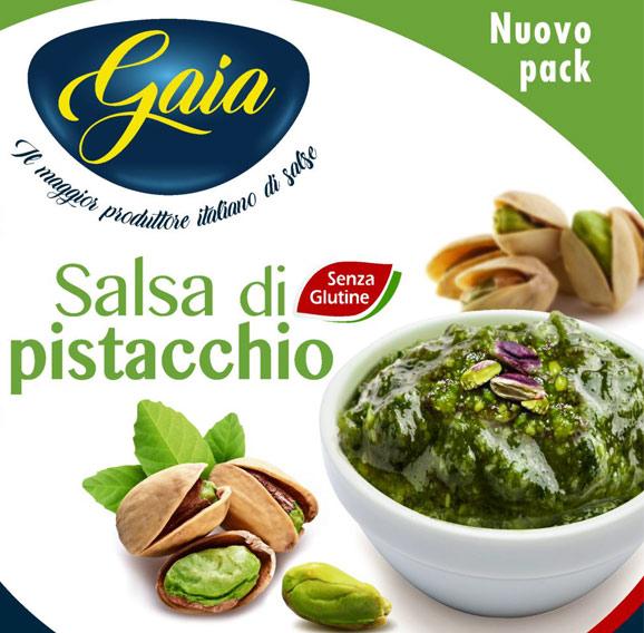 Gaia- Salsa di Pistacchio Vaso vetro da 500g