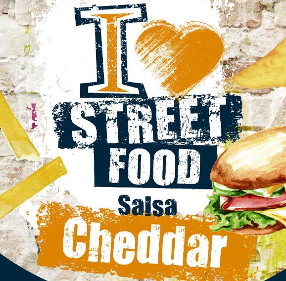 Salsa Cheddar - I Love Streetfood